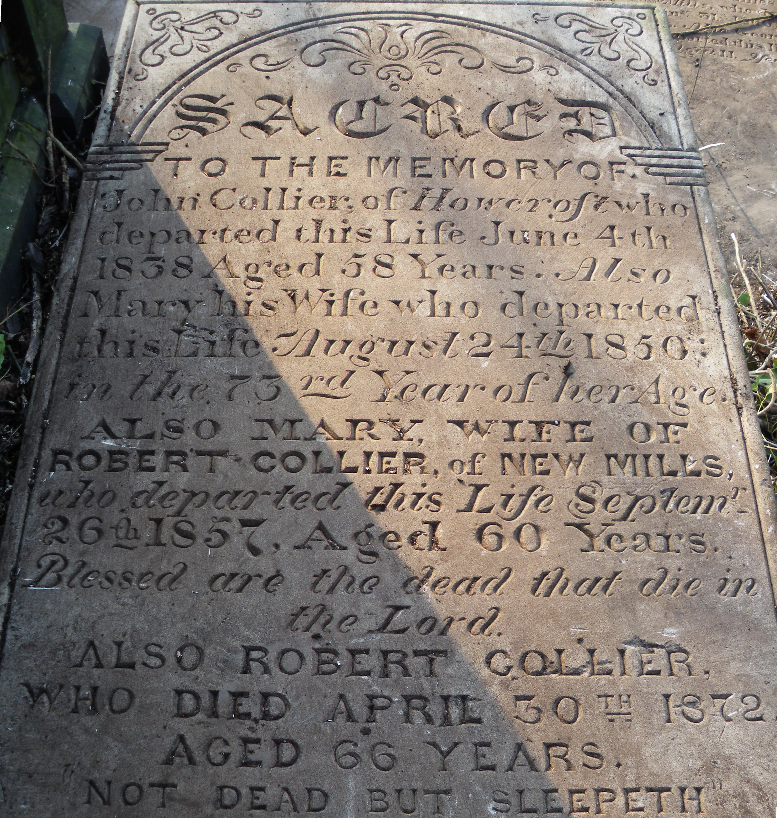 Tomb of Robert Collier