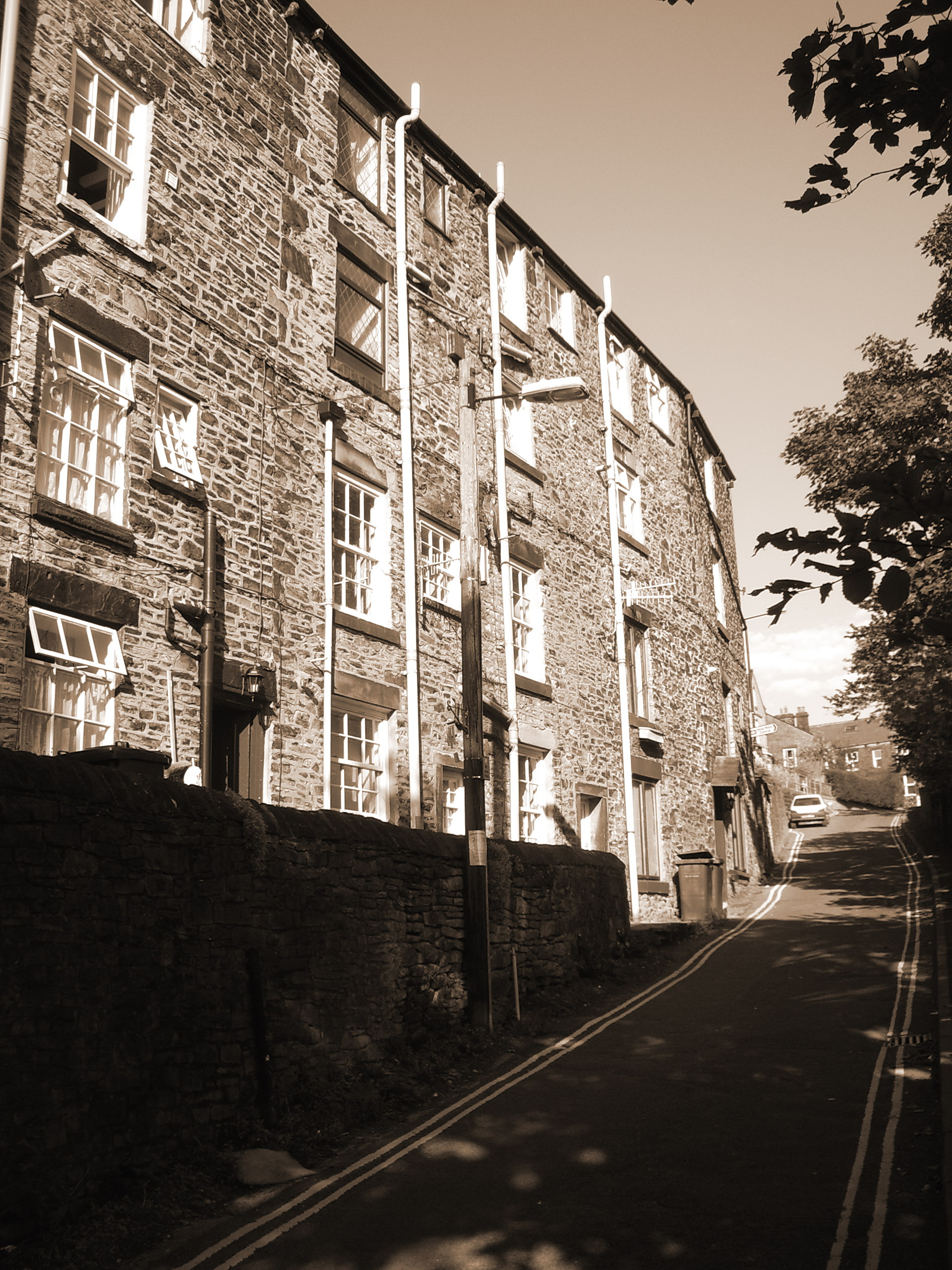 Under dwellings on Station Road