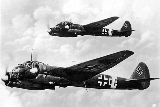 A pair of JU88's