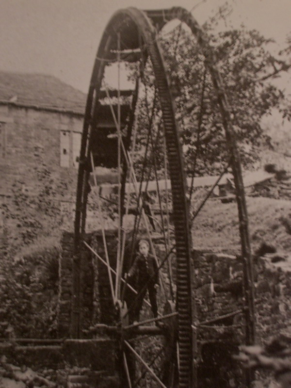 The water wheel designed by Joseph Arnfield