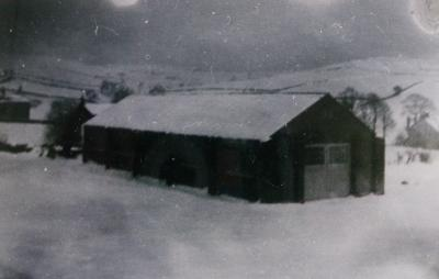 Rowarth Village Hall 1955.