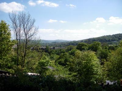 view up the Goyt Valley.