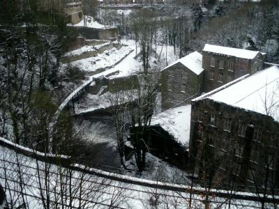Torrs in winter