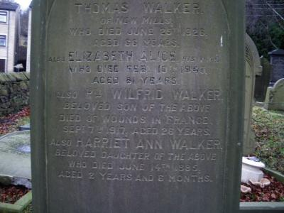 Wilfred Walker - Independent Chapel.