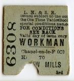 Early Rail Ticket