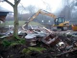 Demolition of Sett Valley House 2009